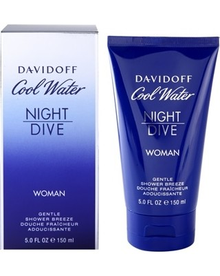 """DAVIDOFF """"Cool Water Night Dive"""" Kūno prausiklis 150ml."""