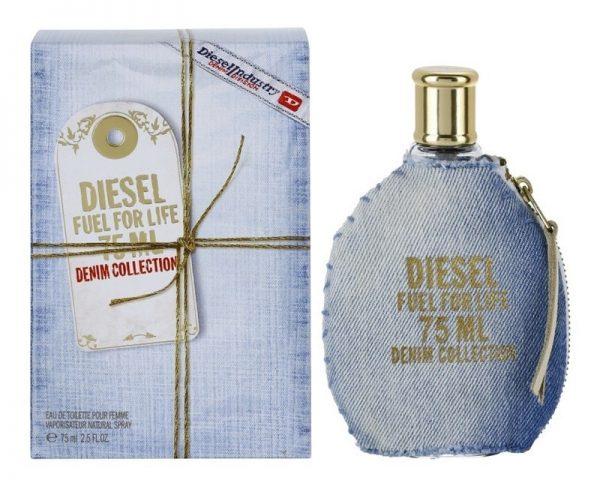 "Diesel ""Fuel For Life Denim Collection Femme"" 75ml. EDT Testeris"