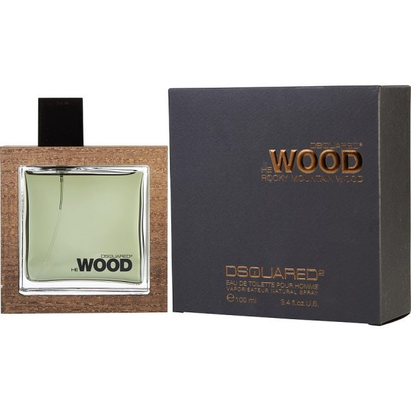 """DSQUARED2 """"He Wood Rocky Mountain"""" 100ml. EDT Testeris"""