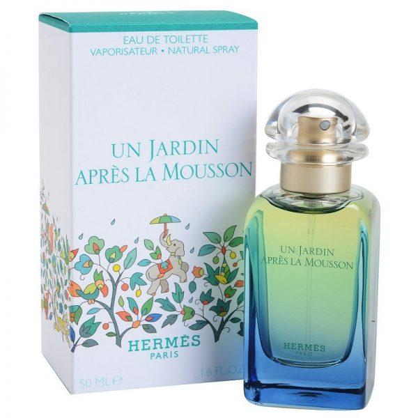 """Hermes """"Un Jardin Apres La Mousson"""" 50ml. EDT"""