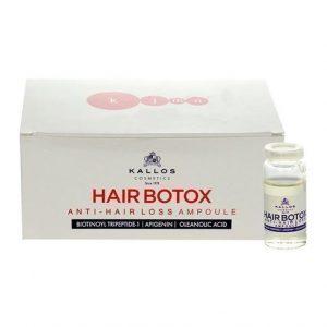 "KALLOS ""Hair Pro-Tox Anti-Hair Loss Ampoule"" Ampulės plaukams"