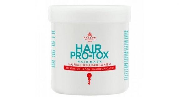 "KALLOS ""Hair Pro-Tox Anti-Hair Loss Ampoule"" Šampūnas 500ml."