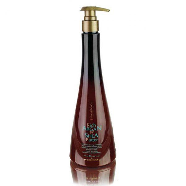 KLERAL Rich Argan&Shea Butter Šampūnas 500 ml.