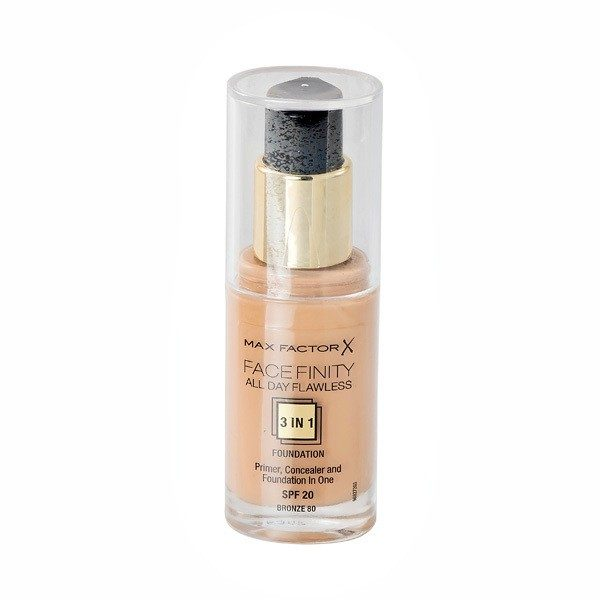 "MAX FACTOR ""Face Finity All Day Flawless"" No.80 Makiažo pagrindas"