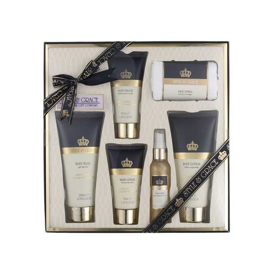 Style & Grace Bath And Body Collection Gift Set rinkinys