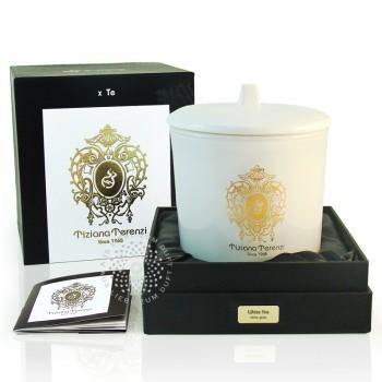 """Tiziana Terenzi """"White Fire"""" 170g. Žvakė namams."""