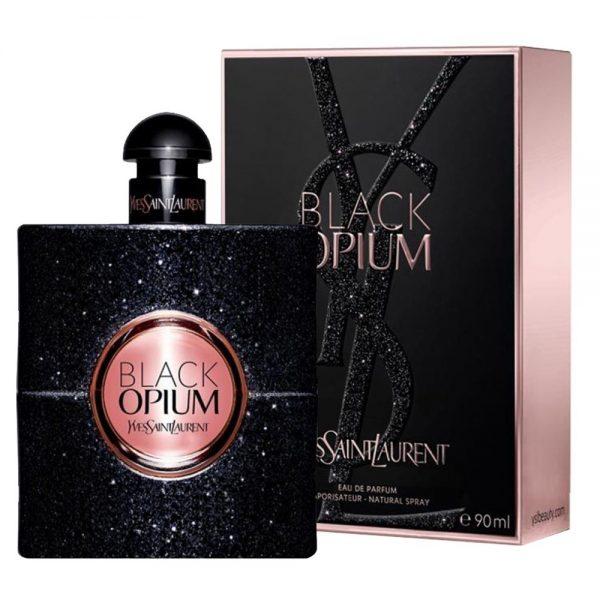 "YVES SAINT LAURENT ""Black Opium"" 90ml."